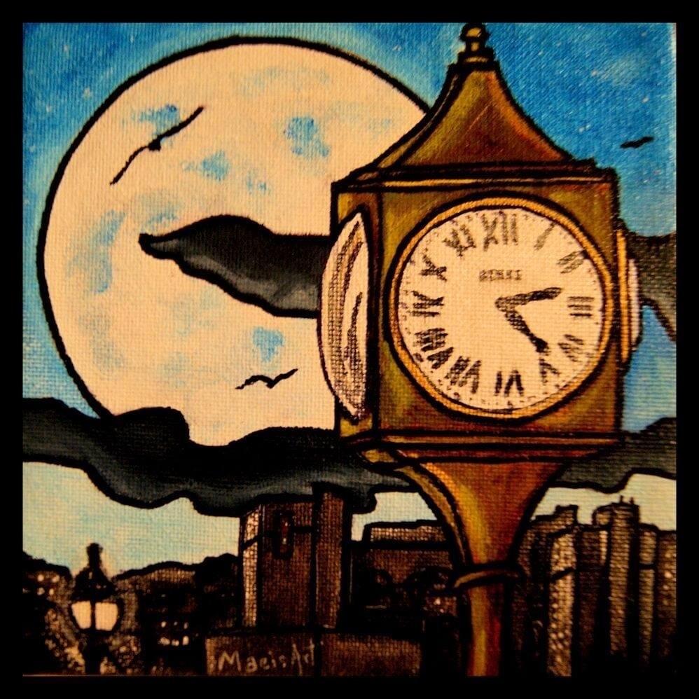 The Clock - Maeisart Coaster