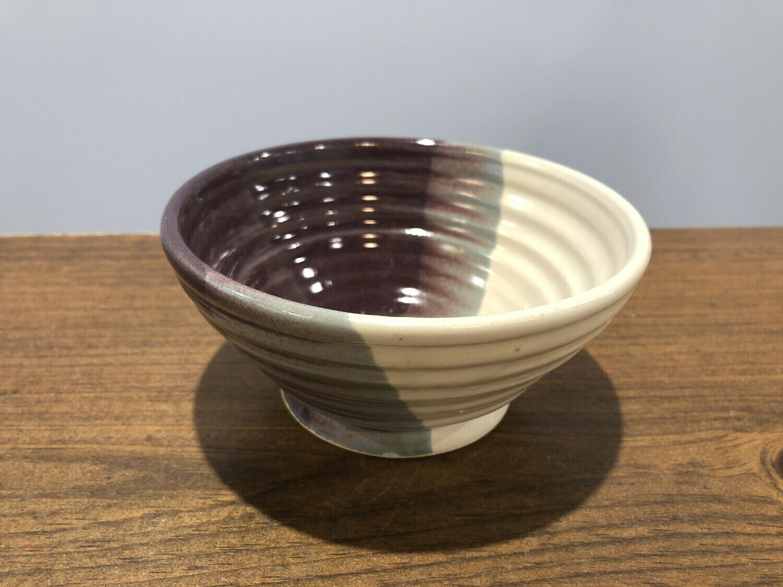 Purple & White Small Bowl - Alicia Kate