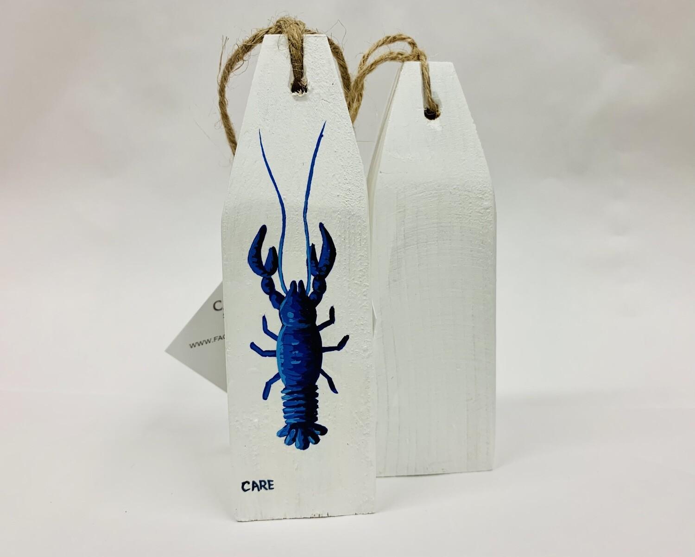 Blue Lobster Buoy - Care Garrison