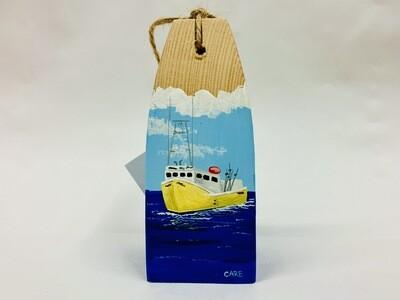 Yellow Fishing Boat Buoy - Care Garrison