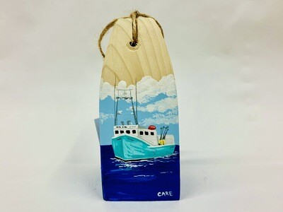 Blue Fishing Boat Buoy - Care Garrison