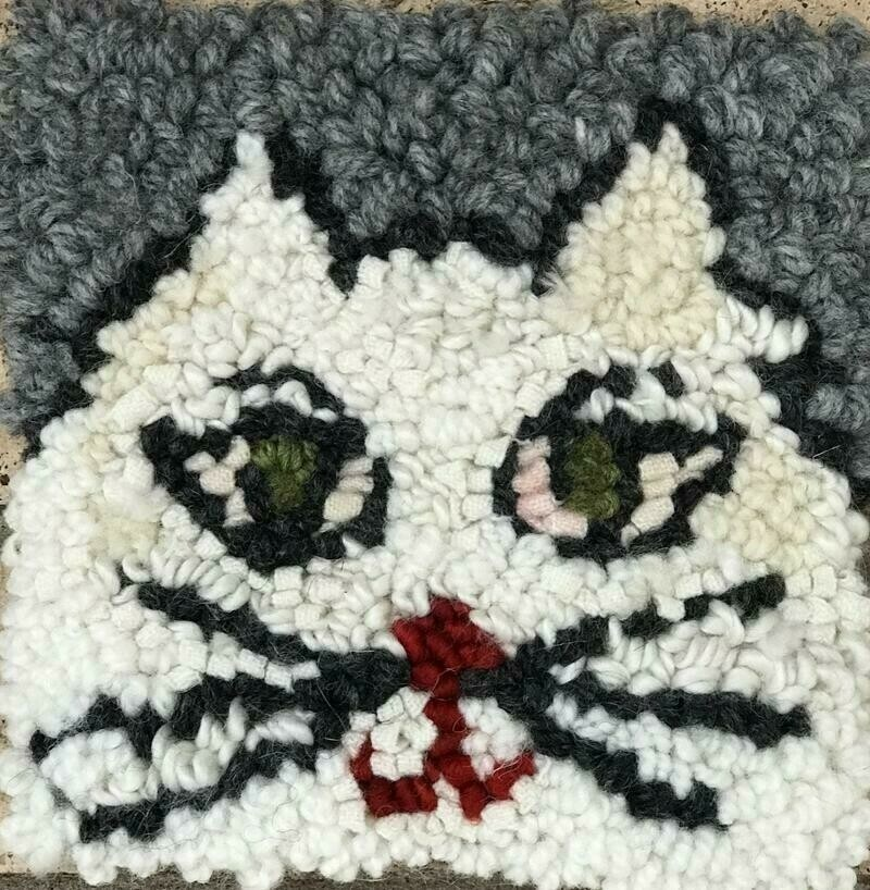 Rug Hooking Kit- Cat