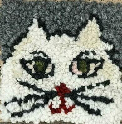Rug Hooking Kit- Cat