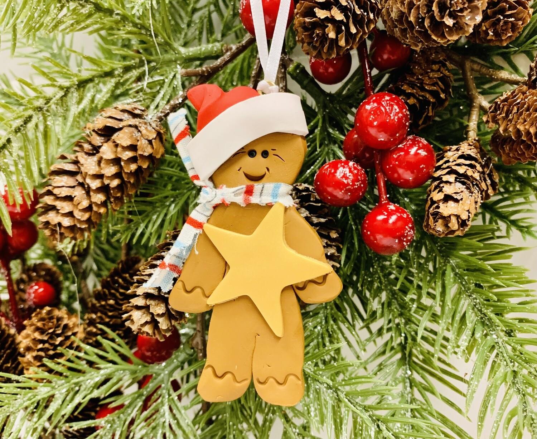 Roberta Gingerbread Ornament