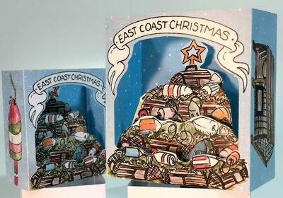 Pop-up Card- East Coast Christmas