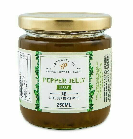 Hot Pepper Jelly 250ml, PEI