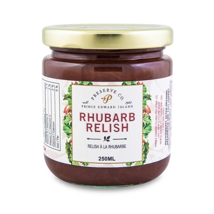 Rhubarb Relish 250ml, PEI
