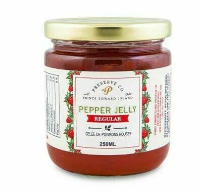 Red Pepper Jelly 250ml, PEI