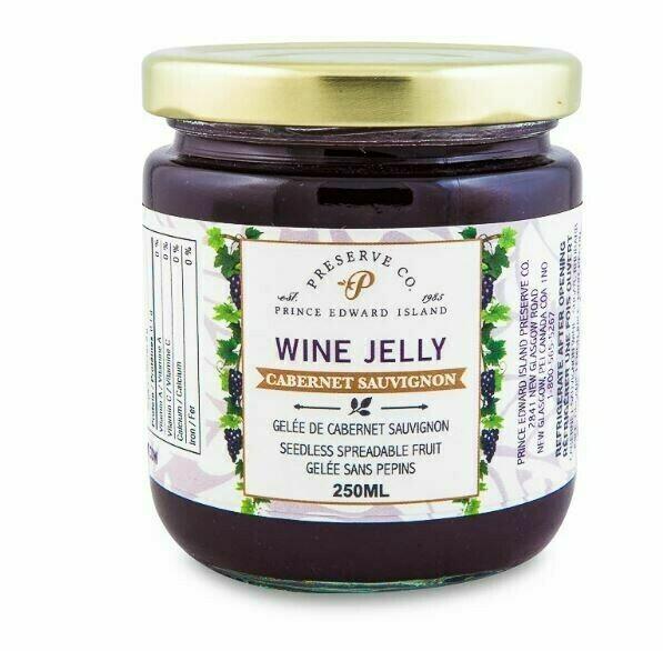 Wine Jelly 250ml, PEI