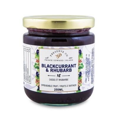 Blackcurrant & Rhubarb 250ml, PEI