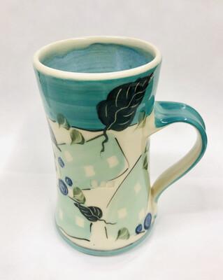 Teal Mug Blue Inside - Keffer
