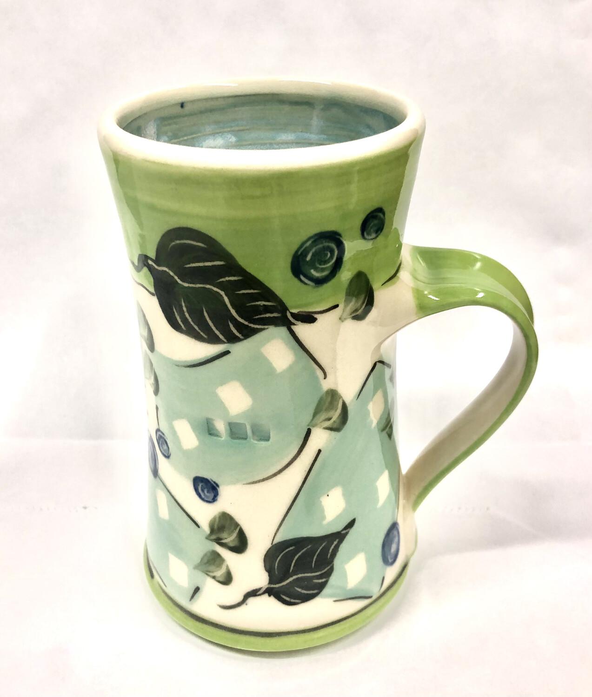 Green Mug Blue Inside - Keffer