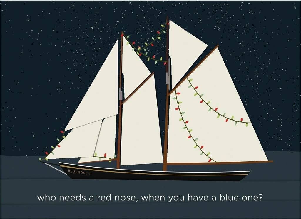 Bluenose Christmas Card