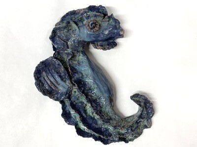 Blue Seahorse - Mary Jane Lundy