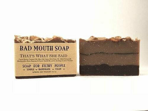 That's What She Said - Bad Mouth Soap