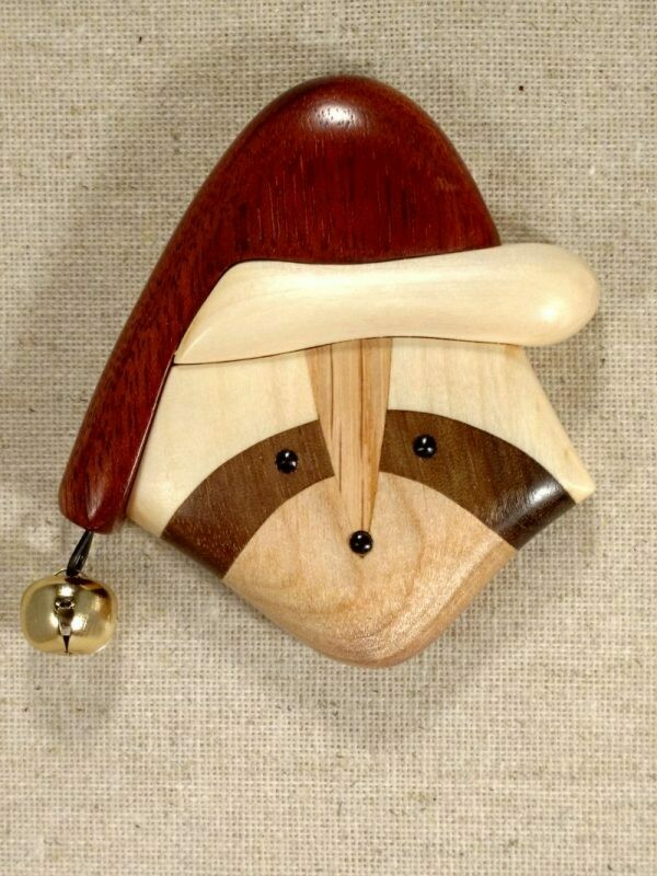Arbour Raccoon Ornament