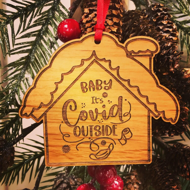 Salt Air Covid Ornament