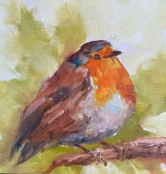 A Little Cheeky, English Robin