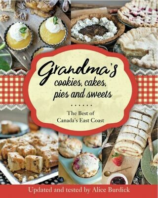 Grandma's Cookies, Cakes, Pies and Sweets Cookbook