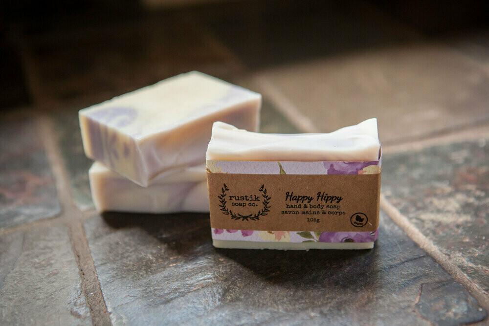 Happy Hippy - Rustik Soap