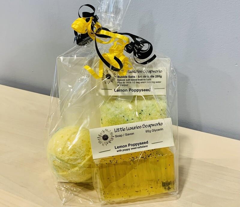 Lemon Poppyseed Gift Bag