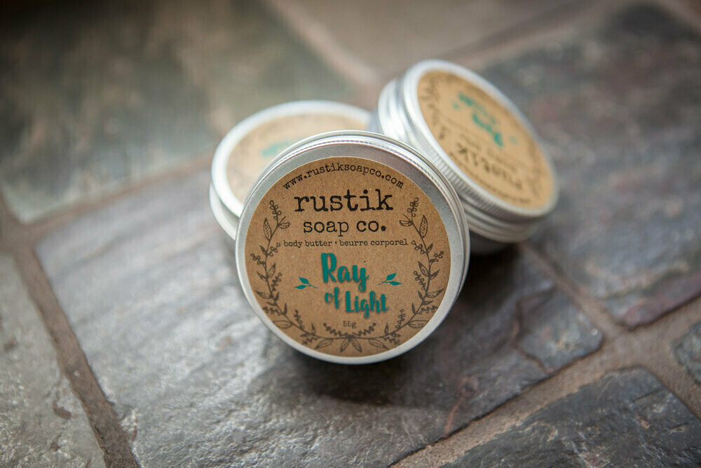 Ray of Light Body Butter - Rustik Soap