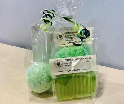 Green Apple Gift Bag