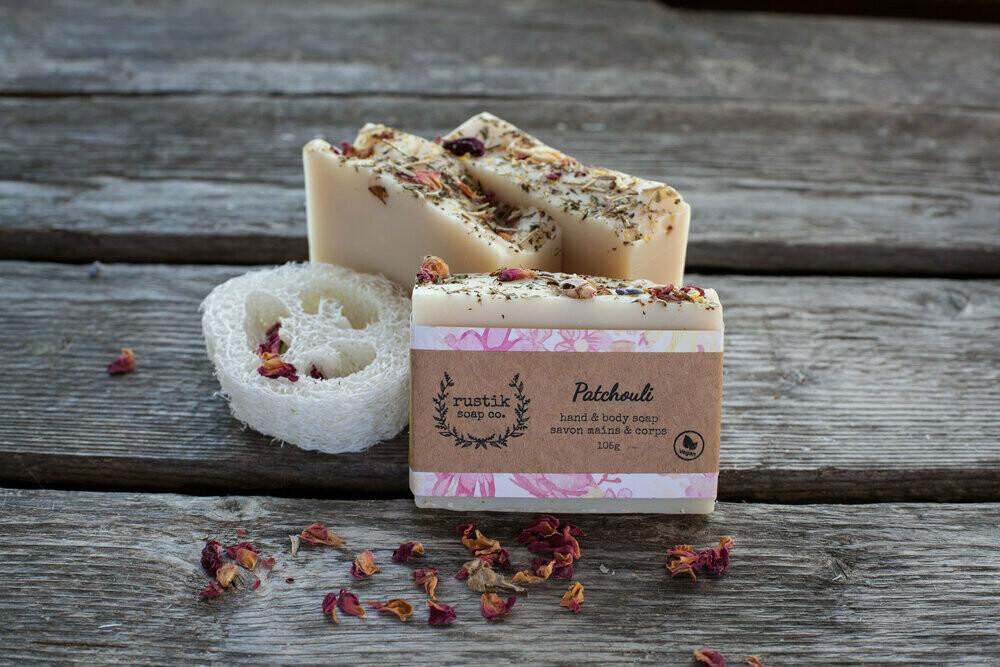 Patchouli - Rustik Soap