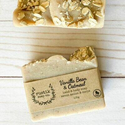 Vanilla Bean Oatmeal - Rustik Soap