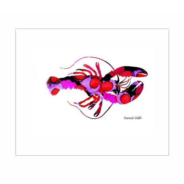 Lobster Print - Hannah Hicks