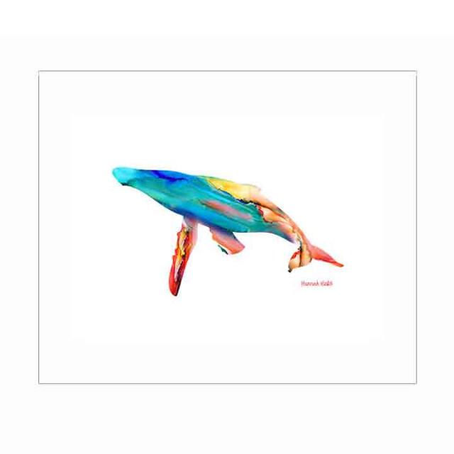 Whale Print - Hannah Hicks