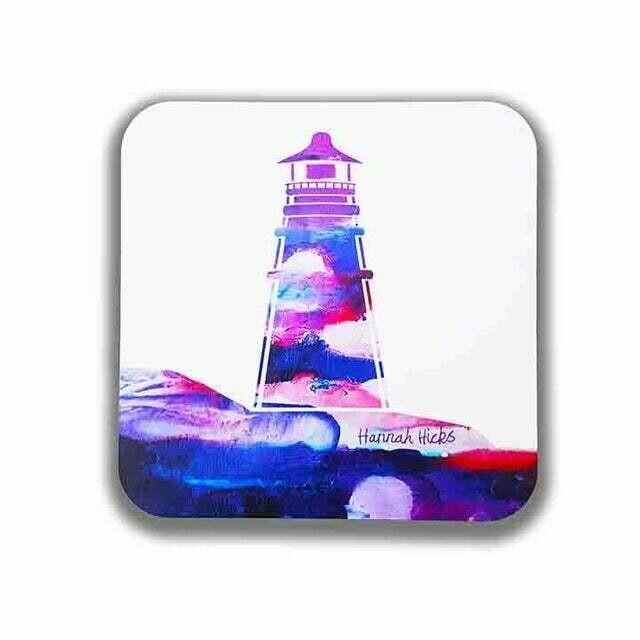 Lighthouse Coaster Set - Hannah Hicks