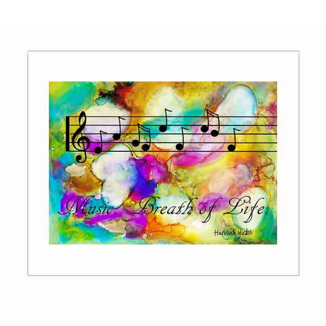 Music Print - Hannah Hicks