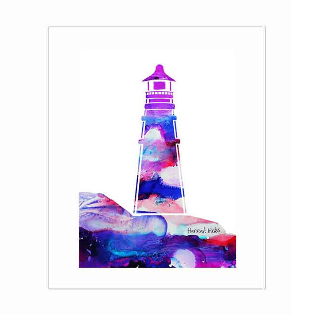 Hannah Hicks Print- Lighthouse