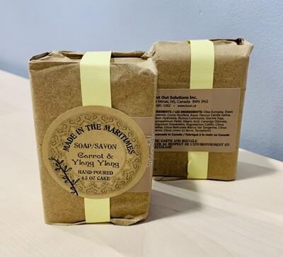 Made in the Maritimes Soap- Carrot & Ylang Ylang