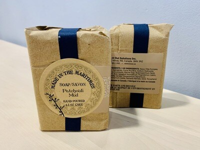 Made in the Maritimes Soap- Patchouli Mud