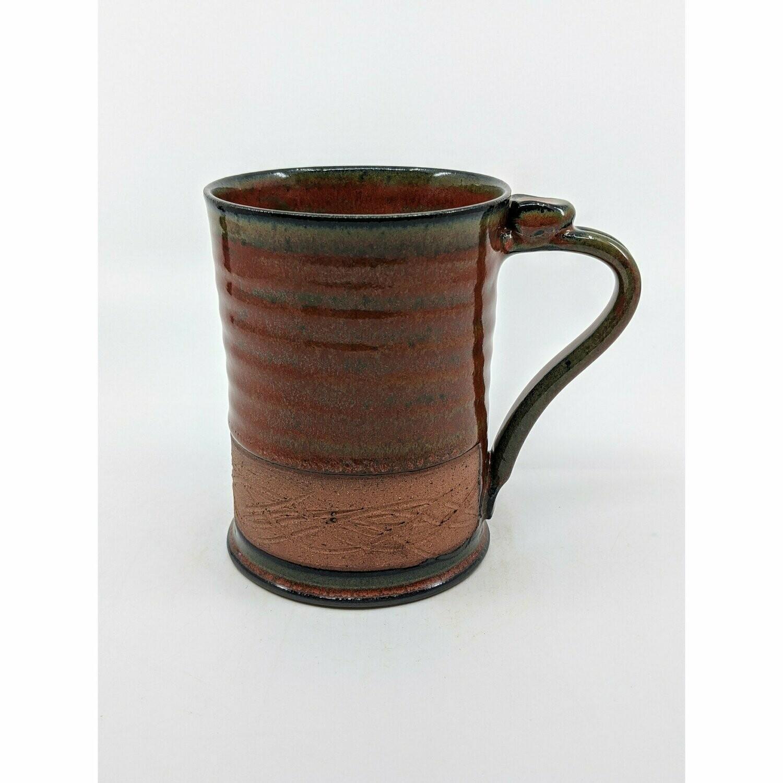 Large Coffee Mug- Iron Red