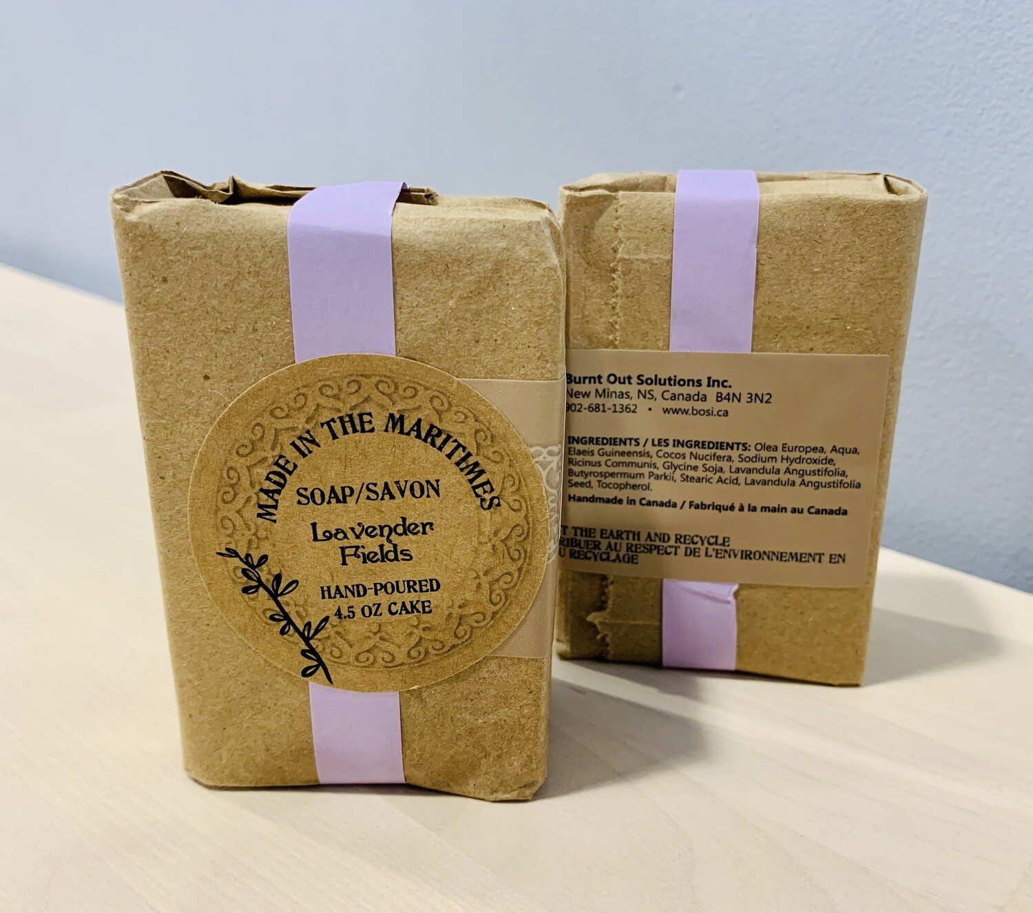 Made in the Maritimes Soap- Lavender Fields