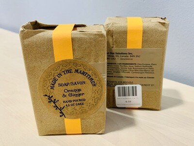 Made in the Maritimes Soap- Orange & Ginger