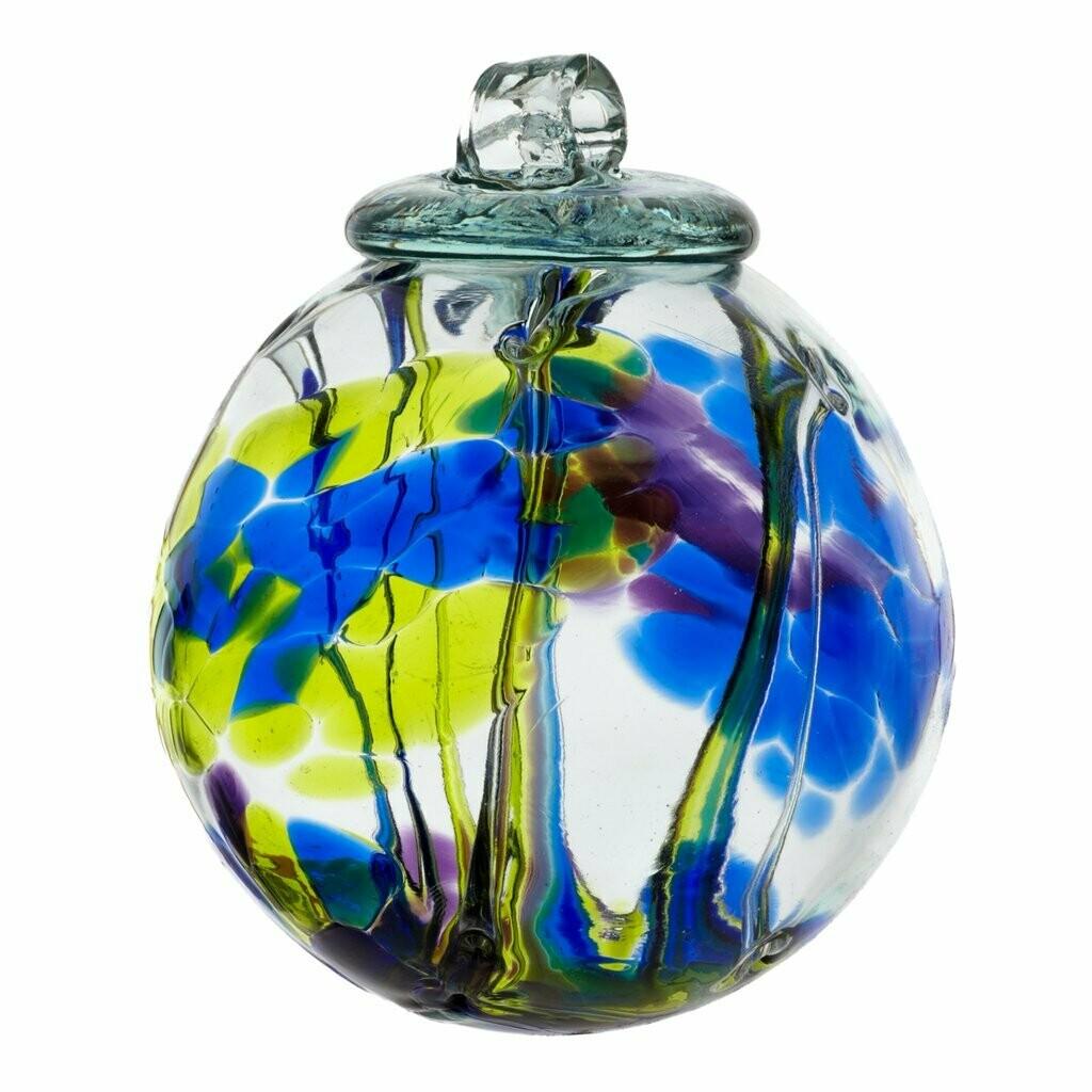 "Multi Blue 6"" Spirit Ball"