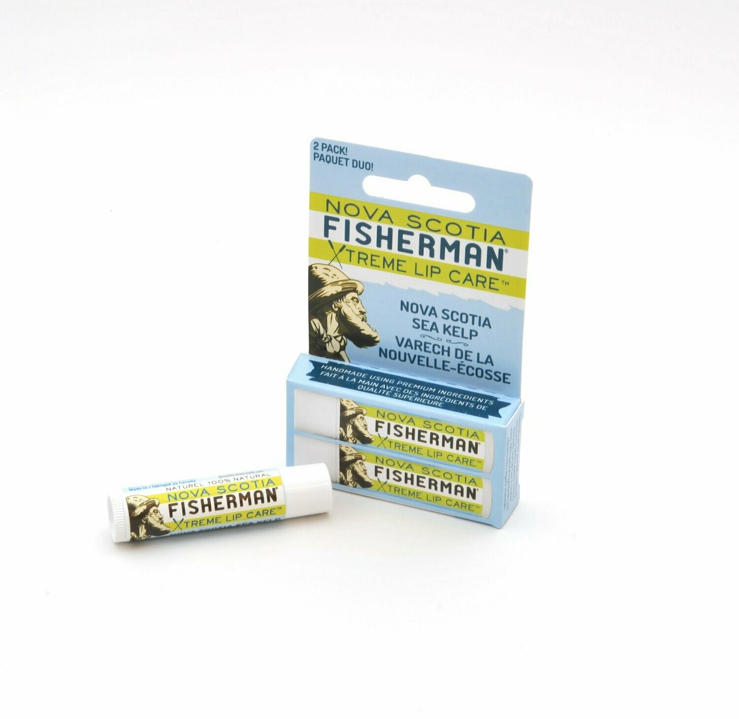 NS Fisherman Lip Balm Duo- Sea Kelp