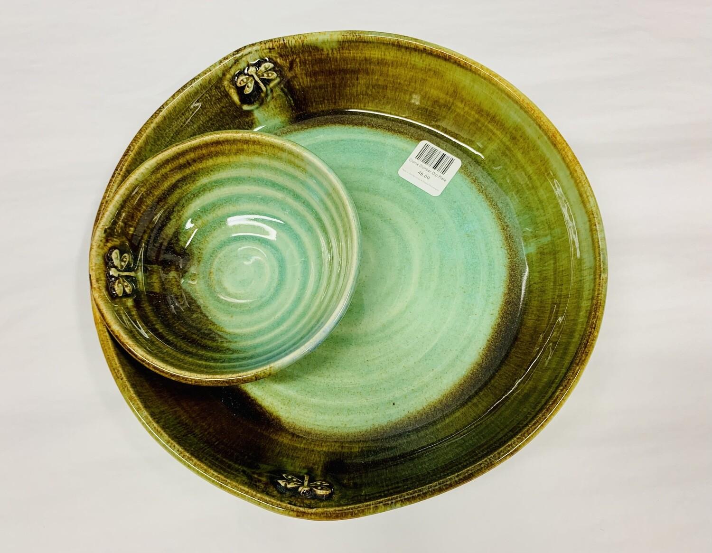 Gloria Dunbar Dip Plate