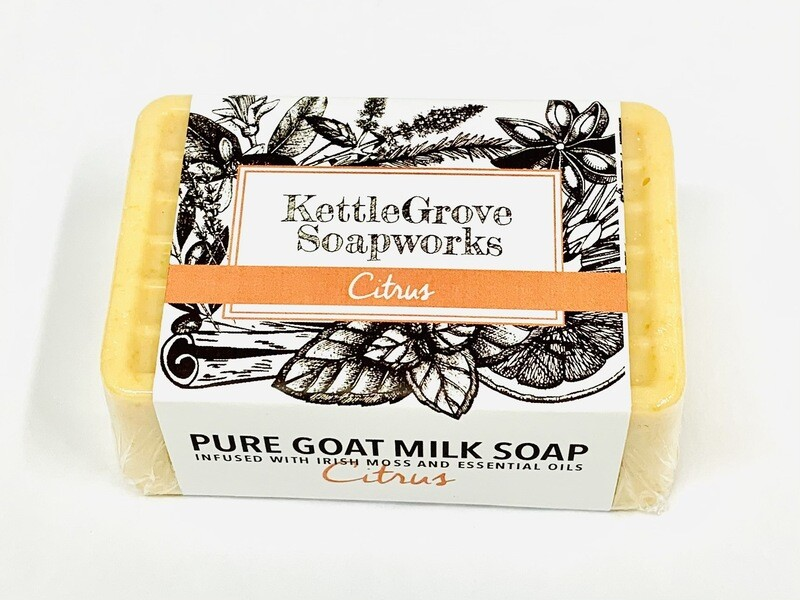 KettleGrove Goat Milk Soap- Citrus