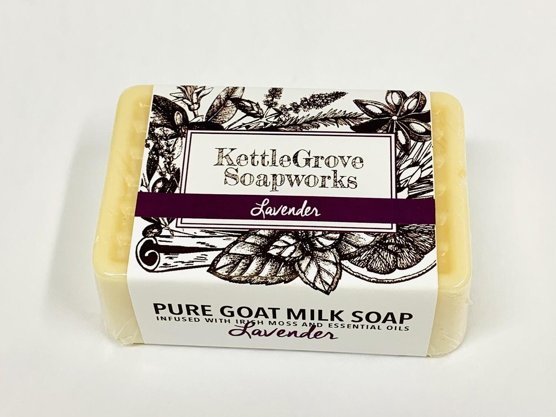 KettleGrove Goat Milk Soap- Lavender