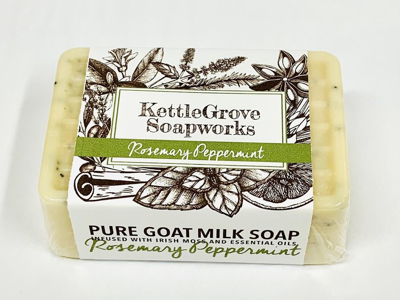 KettleGrove Goat Milk Soap- Rosemary Peppermint