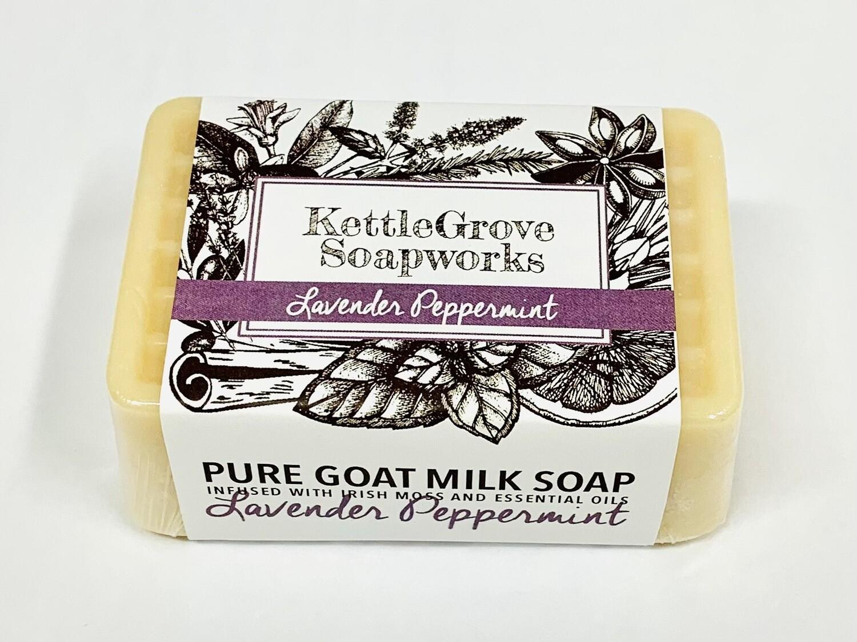 KettleGrove Goat Milk Soap- Lavender Peppermint