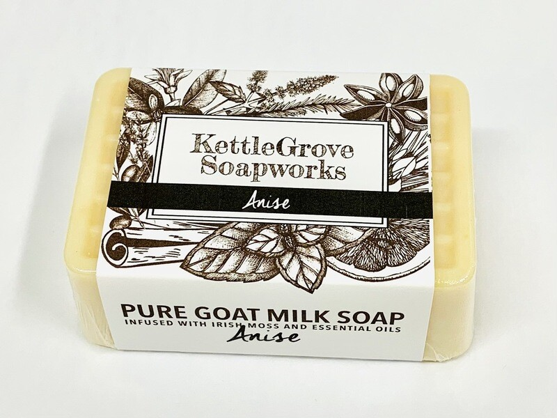 KettleGrove Goat Milk Soap- Anise