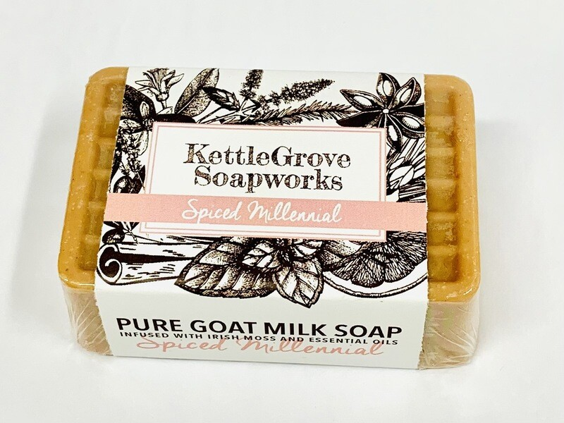 KettleGrove Goat Milk Soap- Spiced Millennial