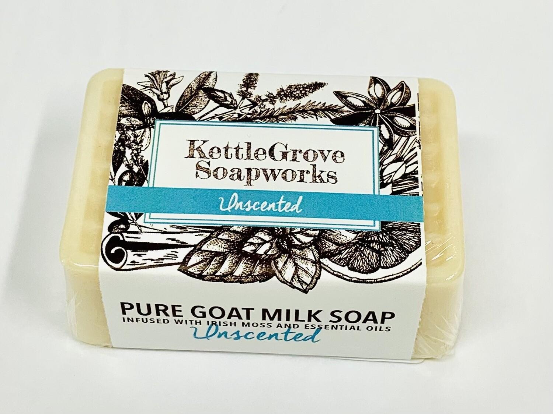 KettleGrove Goat Milk Soap- Unscented