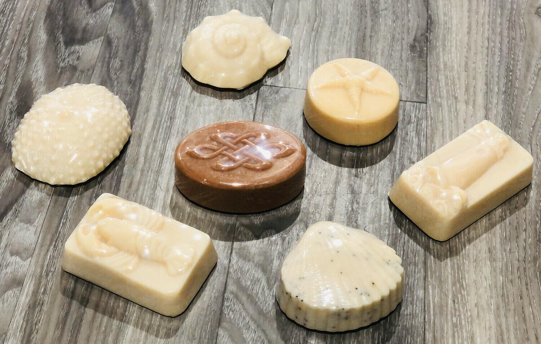 KettleGrove Lavender Peppermint Shaped Soap